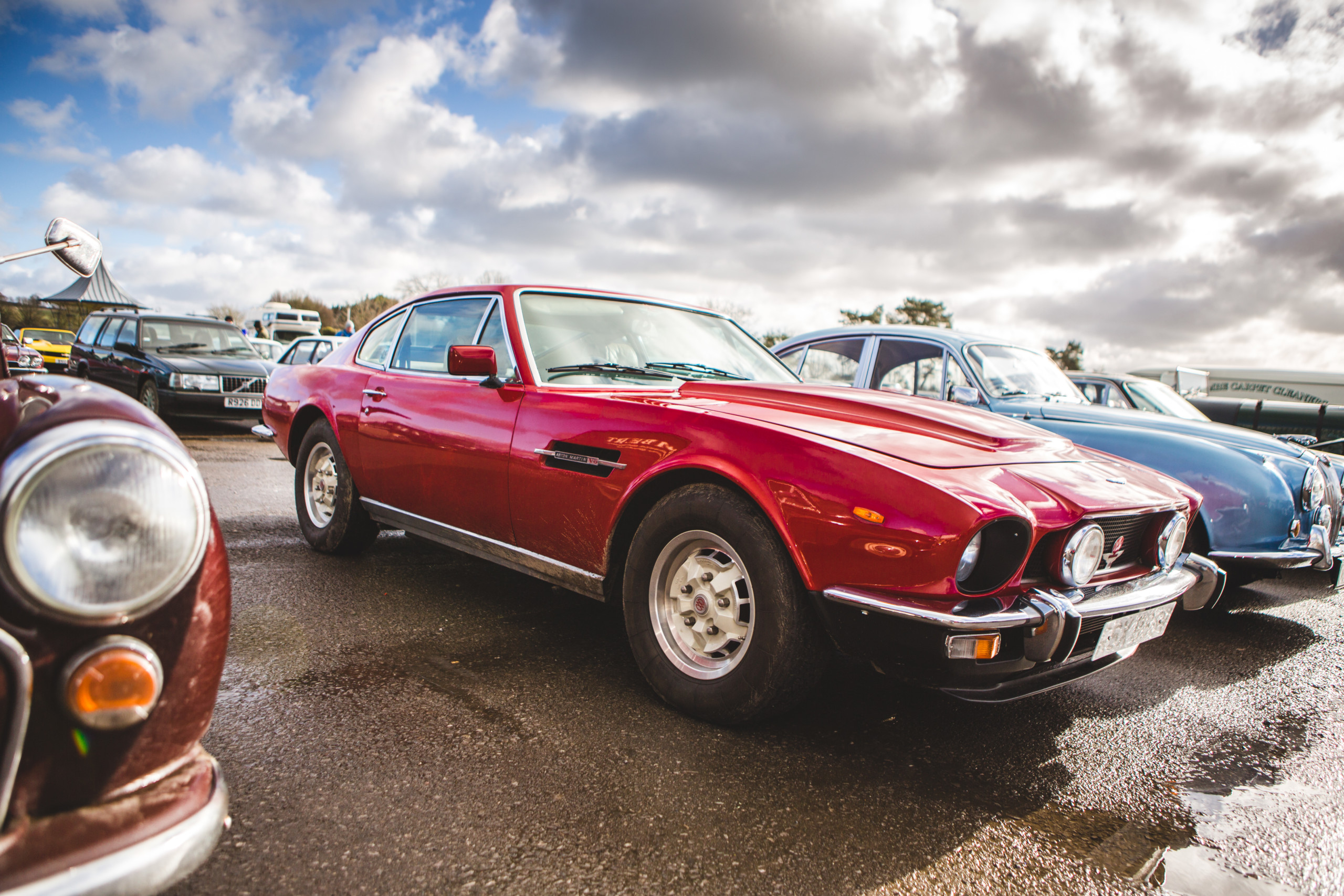Great Western Classic Car Show Aston Martin V8