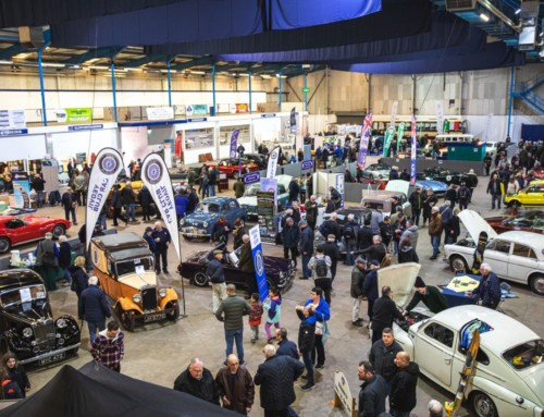 Glorious winter sun shines on record number of classic cars at Great Western Classic Car Show 2020